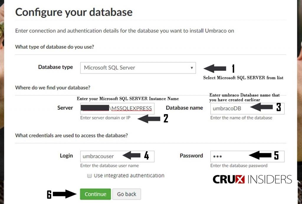 Step-6-Provide-Databasse-configurration-information