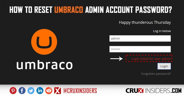 how-to-reset-umbraco-admin-password